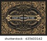 retro card | Shutterstock .eps vector #635603162