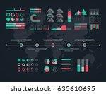 timeline vector infographic....   Shutterstock .eps vector #635610695