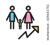population growth   Shutterstock .eps vector #635631752