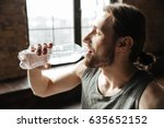 close up of a healthy young... | Shutterstock . vector #635652152