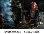 ha giang  vietnam   september... | Shutterstock . vector #635697506
