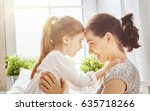 happy mother's day  mom and her ... | Shutterstock . vector #635718266