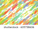 seamless bright colorful... | Shutterstock . vector #635738636