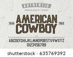 font. alphabet. script.... | Shutterstock .eps vector #635769392