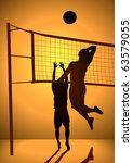 silhouette illustration of... | Shutterstock .eps vector #63579055