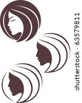 vector fashion icon logo | Shutterstock .eps vector #63579811