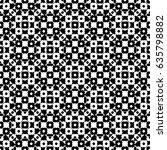 raster monochrome seamless... | Shutterstock . vector #635798882