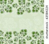 floral background  jpg   Shutterstock . vector #63584224