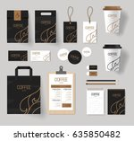 corporate branding identity... | Shutterstock .eps vector #635850482
