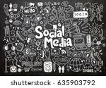 hand drawn vector illustration... | Shutterstock .eps vector #635903792