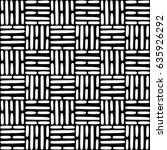 seamless vector pattern with... | Shutterstock .eps vector #635926292