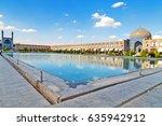 blur in iran   the old square... | Shutterstock . vector #635942912
