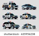set of various city urban... | Shutterstock .eps vector #635956238