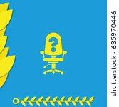 vacancy icon. | Shutterstock .eps vector #635970446