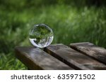 Nature Reflecting In Crystal...