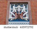 abstract window design of... | Shutterstock . vector #635972792