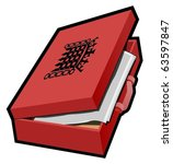 budget case  ministerial case... | Shutterstock .eps vector #63597847