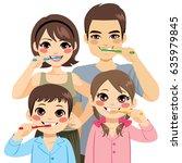 Cute Four Member Family...