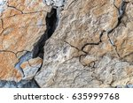The Section Of The Wall Of An...