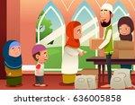 a vector illustration of... | Shutterstock .eps vector #636005858