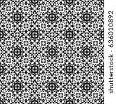 raster seamless pattern.... | Shutterstock . vector #636010892