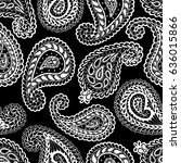 paisley seamless pattern....   Shutterstock .eps vector #636015866