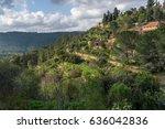 ein karem nature   Shutterstock . vector #636042836