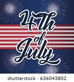 usa independence day design   Shutterstock .eps vector #636043802