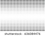 abstract halftone dotted... | Shutterstock .eps vector #636084476