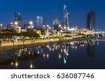 ho chi minh city business... | Shutterstock . vector #636087746
