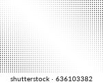 abstract halftone dotted... | Shutterstock .eps vector #636103382