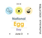vector illustration for egg day ... | Shutterstock .eps vector #636147806