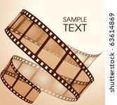film strip | Shutterstock .eps vector #63614869