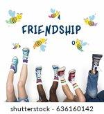 Kids Children Friendship Together Team - Fine Art prints