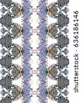 mosaic seamless colorful... | Shutterstock . vector #636186146