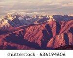 sierra nevada mountains | Shutterstock . vector #636194606