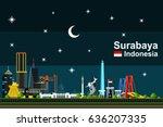 simple flat style illustration...   Shutterstock .eps vector #636207335