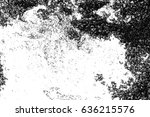 abstract black and white... | Shutterstock . vector #636215576