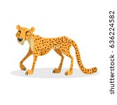 cartoon trendy design african... | Shutterstock .eps vector #636224582