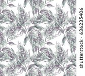 Lilac Seamless Pattern....