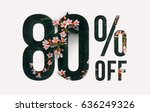 brilliant promotion sale poster ... | Shutterstock . vector #636249326
