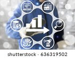 industry data market elements.... | Shutterstock . vector #636319502