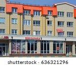 koroliov  moscow region  russia ... | Shutterstock . vector #636321296