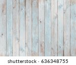 Pale Blue Wood Planks Texture...