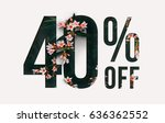 brilliant promotion sale poster ... | Shutterstock . vector #636362552
