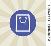 shopping bag icon. sign design. ...