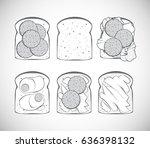 a set of vector illustrations ...   Shutterstock .eps vector #636398132