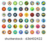 sports icons | Shutterstock .eps vector #636402422