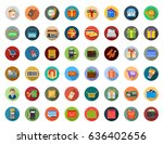 shopping icons | Shutterstock .eps vector #636402656