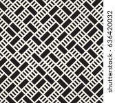 vector seamless pattern. mesh... | Shutterstock .eps vector #636420032
